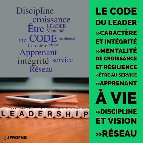 code du leader visuel